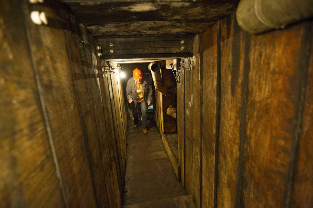 Visite guidée des souterrains de la Butte de Vauquois Argonne Meuse