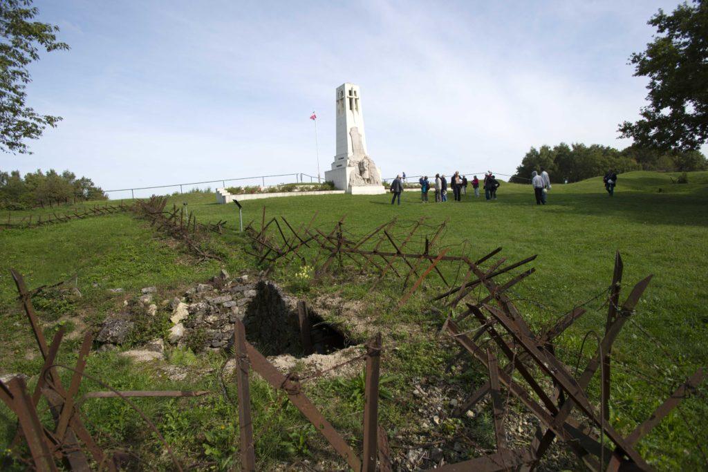 Visite guidée de la butte de Vauquois Argonne Meuse