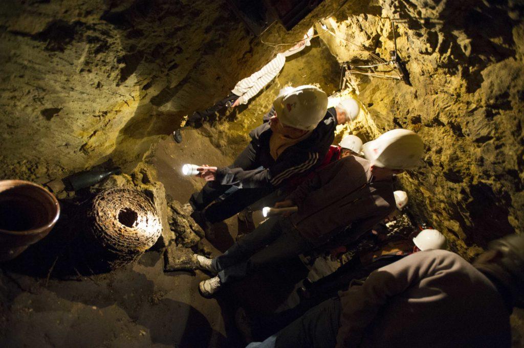 Visite guidée de la butte de Vauquois et de ses souterrains Argonne Meuse
