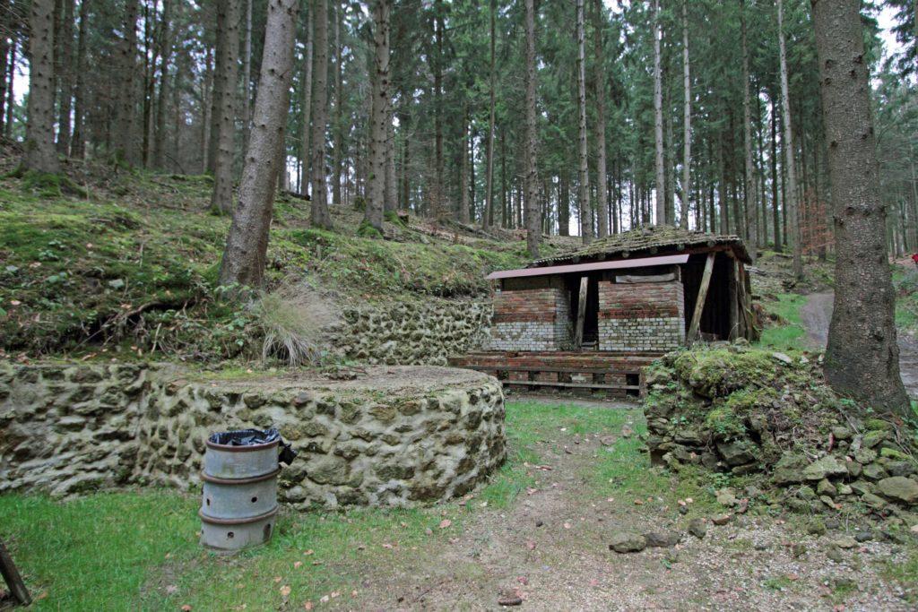 Les cuisines réhabilitées sur le site du Ravin du Génie Argonne Meuse