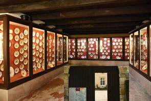 Maison forte de Rarécourt : collection de faïences d'Argonne Meuse