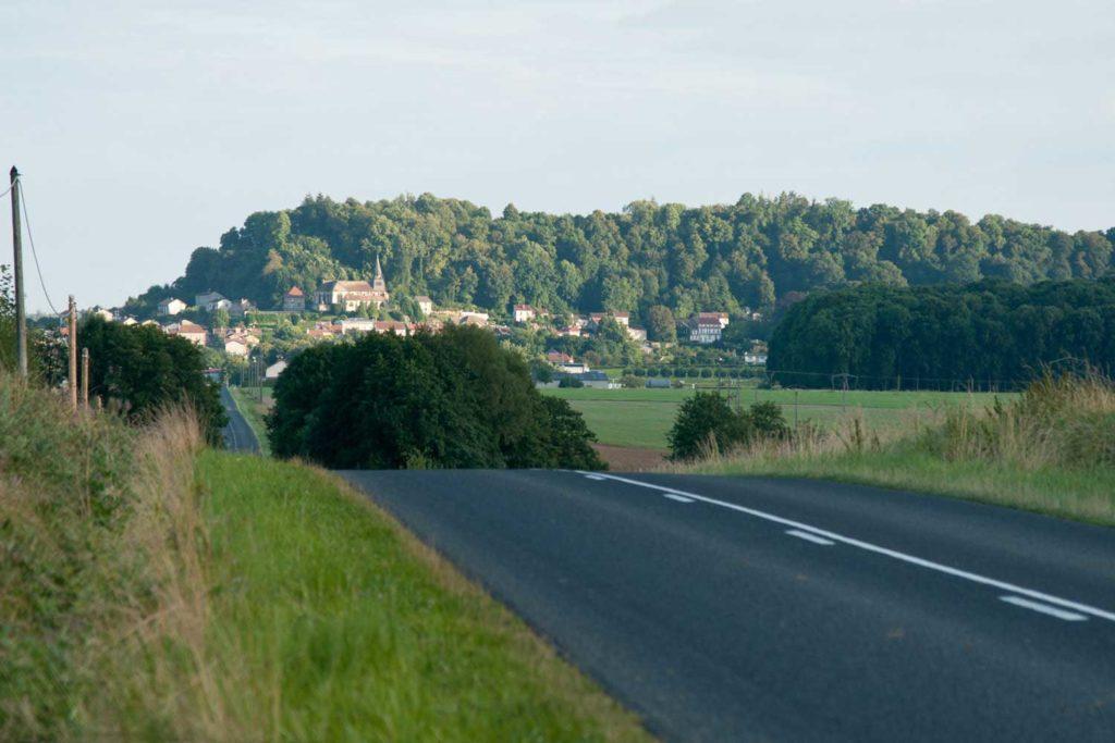 Arrivée sur Clermont en Argonne