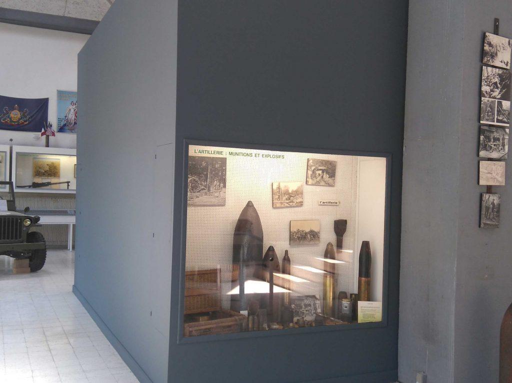 Une nouvelle scénographie au musée d'Argonne à Varennes en Argonne Meuse